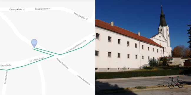 THE ERDÖDY ROUTE – KLANJEC